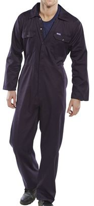 137-0012 Regular navy boiler suit