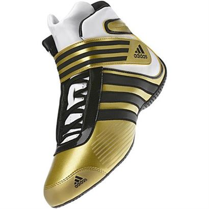 136-0061 Adidas Kart XLT Shoe Gold-Black-White