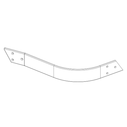 121-0140 RH Front Outer Side Wrap - no cut out 500x500