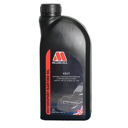Millers KR2T 2 Stroke Oil - 1 Litre Bottle