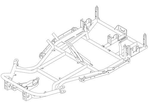 Evo2 Chassis Single Rh Engine