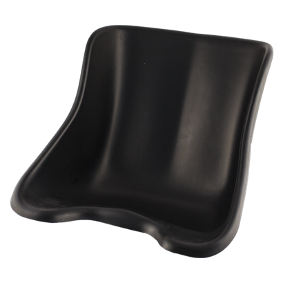 104-0031 - Tillett Rental Seat Plastic Black