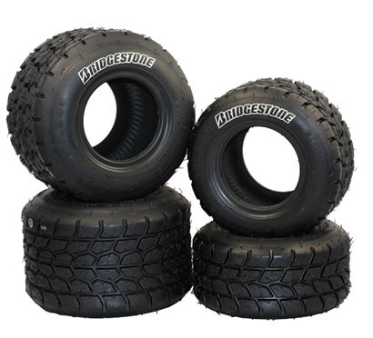 Bridgestone YFD Go Kart Tyre Wet Set
