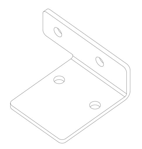 1714 EcoVolt Cadet Potentiometer Mount Bracket