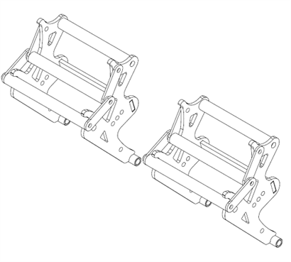 122-0030 Adult Throttle & Brake Pedal