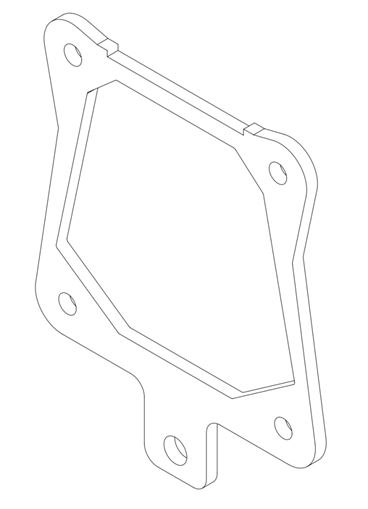 1289 Exhaust Support Bracket