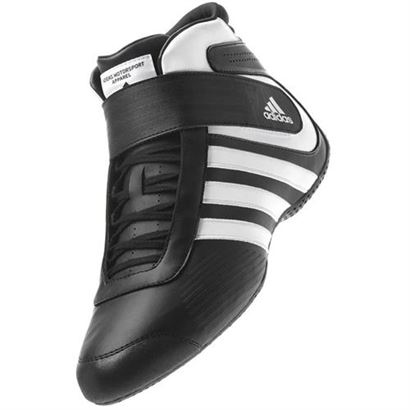 136-00 Adidas Black-White Shoe