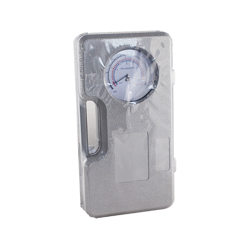 140-0018 - Tyre Large Pressure Gauge With Case